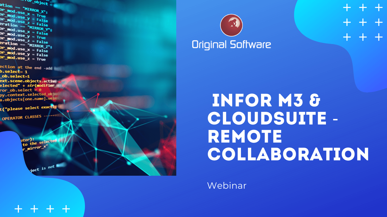 Infor M3 and CloudSuite Webinar. Managing displaced testing resources efficiently
