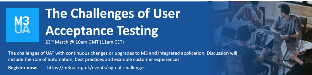 Challenge of user acceptance testing